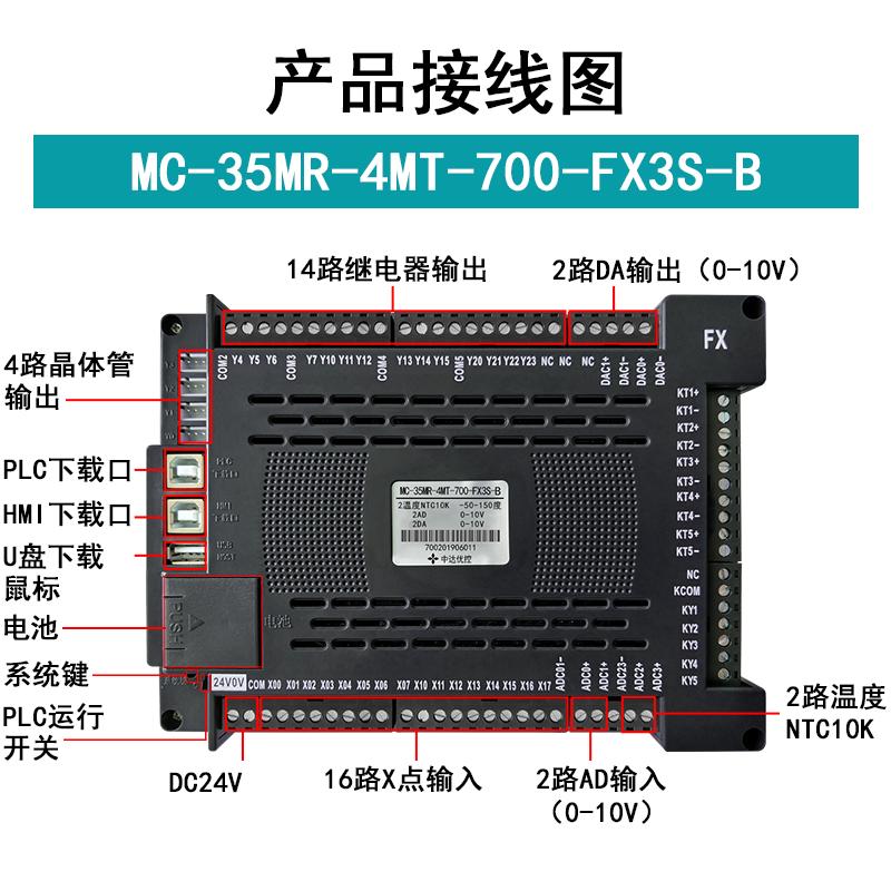 中达优控7尺寸一体机MC-35MR-4MT-700-FX3S-B