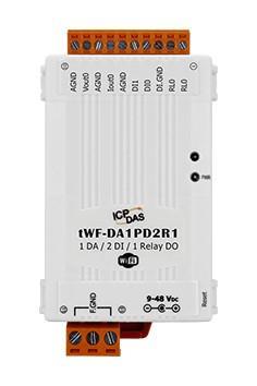 泓格多功能微型 WI-FI I/O 模块 tWF-DA1PD2R1