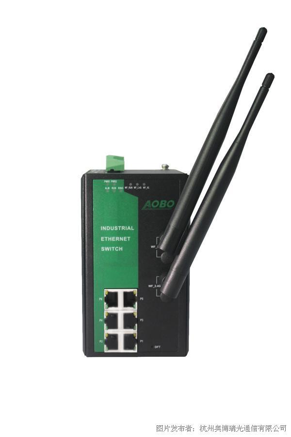 AOBO 5011系列工业级无线自愈环以太网交换机  ?