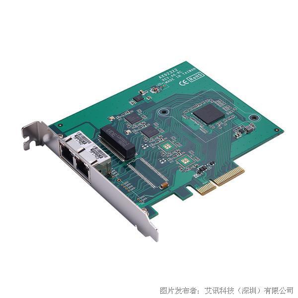 艾訊科技器視覺專用影像擷取卡AX92322