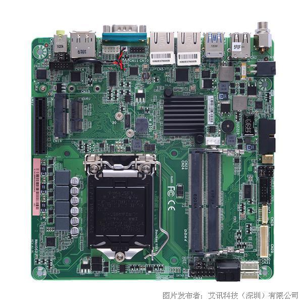 艾讯科技高密度运算领域推出主机板MANO521