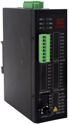 讯记4-20mA模拟量转光纤设备模拟量光纤转换器