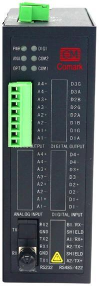 訊記4-20mA模擬量轉光纖設備模擬量光纖轉換器