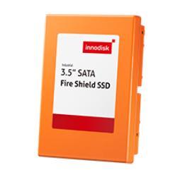 """宜鼎國際3.5"""" Fire Shield SSD工業用閃存模塊"""