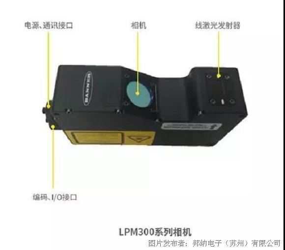 邦納 高性能、緊湊型LPM系列3D智能傳感器