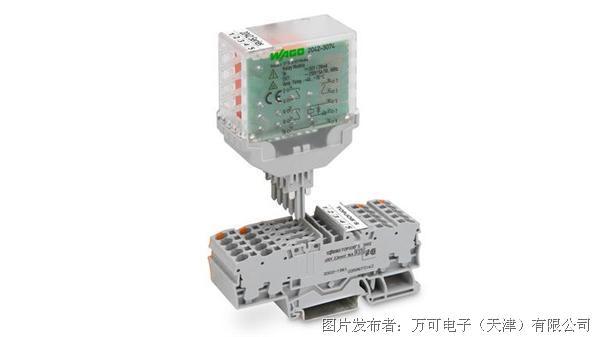 插拔式继电器模块,可安装在TOPJOB® S轨装式接线端子上