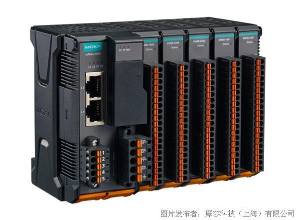 摩莎科技 ioThinx 4510 系列模块化远程 I/O