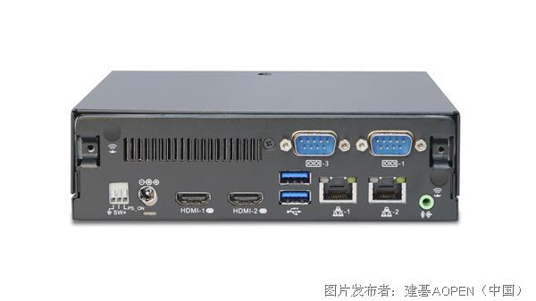 建碁具有强大计算力的播放器 DE5500