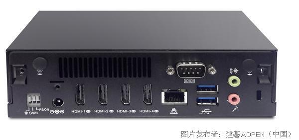 建碁震撼视觉的 4K超高画质播放器 DE6340