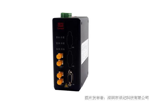 深圳讯记profibus转光纤设备