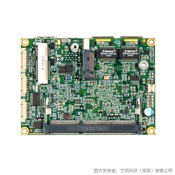 艾讯科技低功耗嵌入式电脑小板PICO319