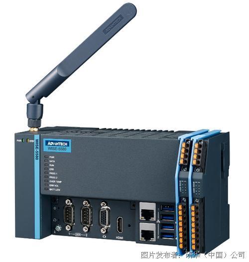 研华科技工业物联网边缘控制器WISE-5000系列