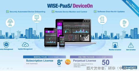 研華WISE-PaaS/DeviceOn物聯網設備運營管理應用程序