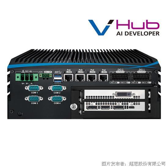 超恩ECX-1400 PEG多GPU嵌入式系统