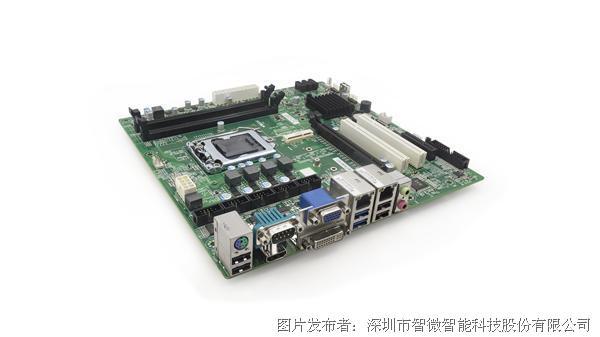 智微智能AIOT9-H81/B85标准Micro ATX工业大母板