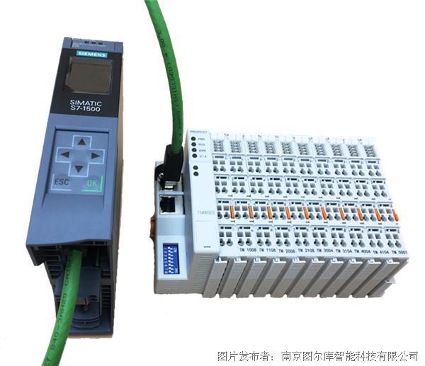 图尔库插片式IO PROFINET从站适配器TM8001