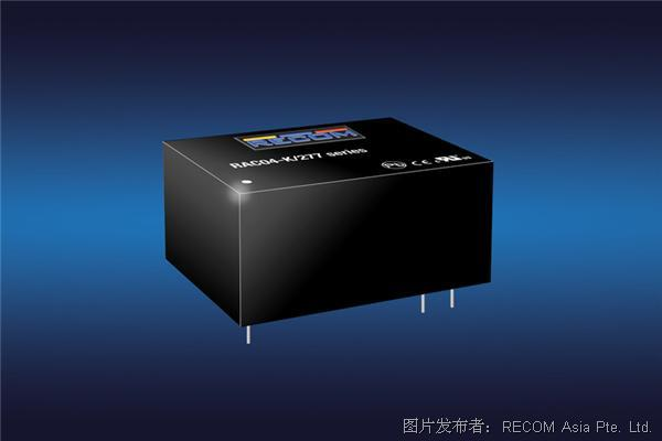 适用于物联网和工业自动化的工业级高隔离AC/DC模块