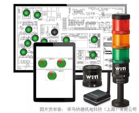 """偉馬快德""""WIN""""——機器監控系統"""