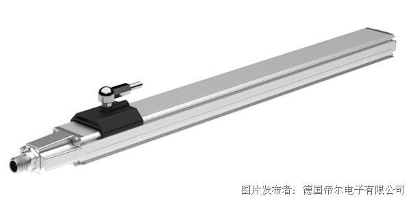 帝爾電子鋁成型外殼平板式LMPS34系列直線位移傳感器
