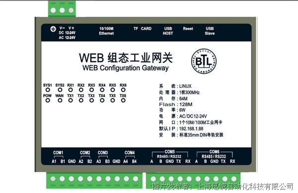 上海迅饒 HMI1006-ARM 網關