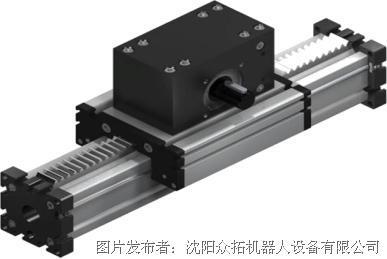 众拓机器人 齿轮齿条驱动直线模组