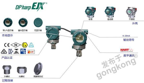 横河川仪---EJXC40A数字远传(DRS)系统