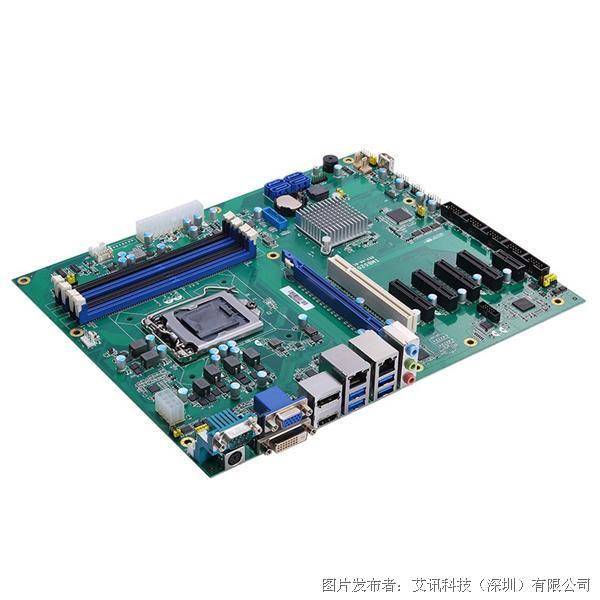 艾訊科技高密度運算ATX主機板IMB520R與IMB521R