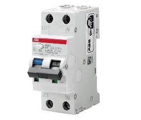 ABB DS201T 铁路专用 电磁式1P+NA RCBO