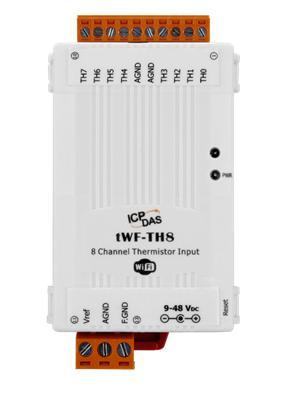 泓格8通道熱敏電阻輸入模塊新產品上市: tWF-TH8
