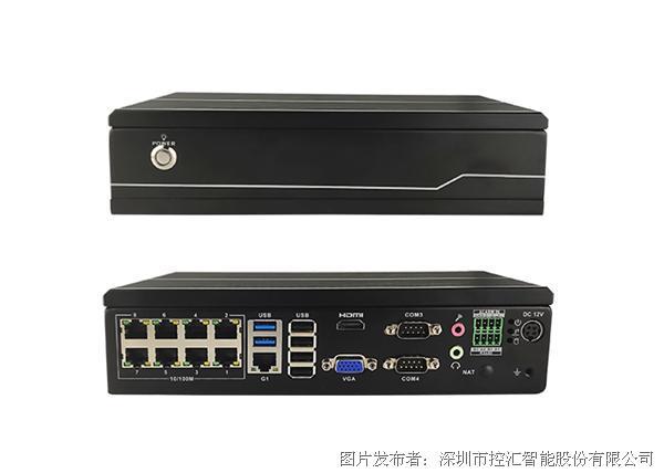 控匯智能 嵌入式控制系統工控機ENS-6129