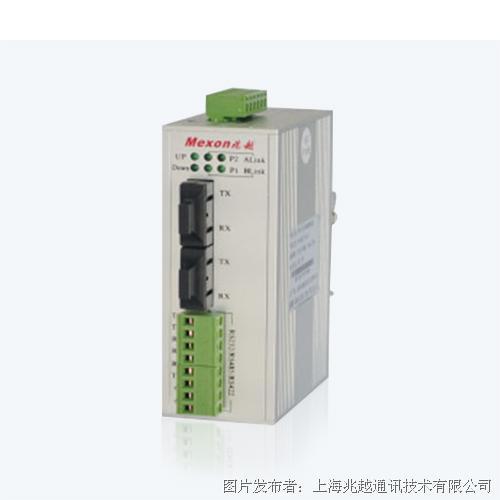 兆越通讯 ME-M4200-R RS232/485自愈环串口光端机
