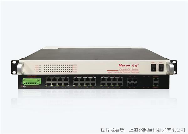 CronetCC-3928-TX424G+4TSFP机架式三层万兆工业以太网交换机