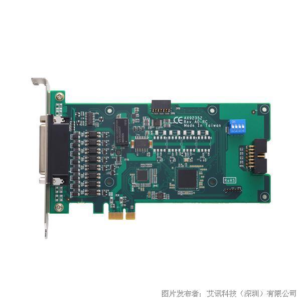 艾讯科技机器视觉实时编码器卡AX92352和照明控制模块AX92353