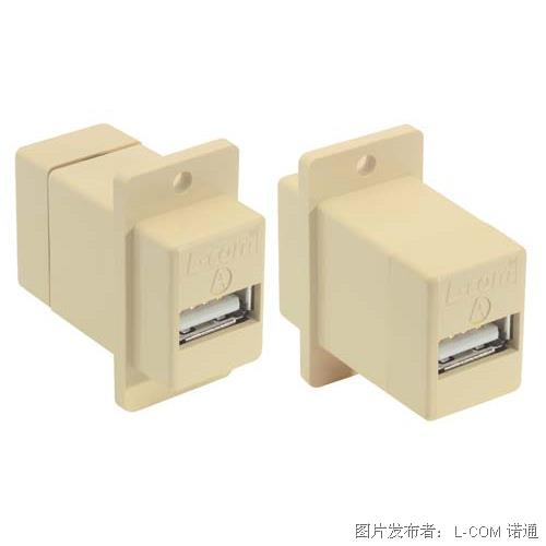 L-com USB 耦合器