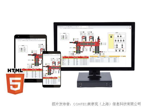 新产品通信 - 基于HTML5技术的HMI/SCADA软件
