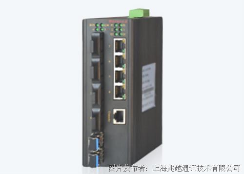 MIE-5610 卡轨式百兆网管型工业以太网交换机