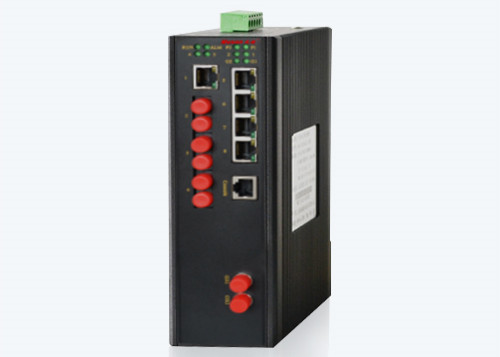 MIE-5610XD 断电保护网管型百兆工业以太网交换机