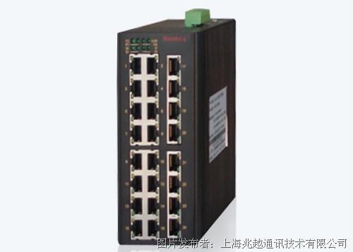 MIE-5628 24FE+4GSFP卡轨式千兆网管型工业以太网交换机