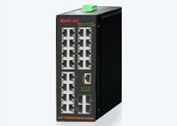 Cronet CC-362824GE+4GSFP卡轨式三层全千兆工业以太网交换机
