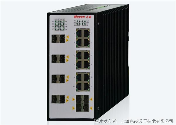Cronet CC-3920卡轨式三层千兆/万兆工业以太网交换机