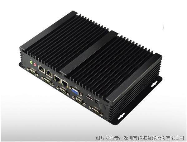 控匯智能MFC-2501多網口3855U無風扇工控機   6串四網口