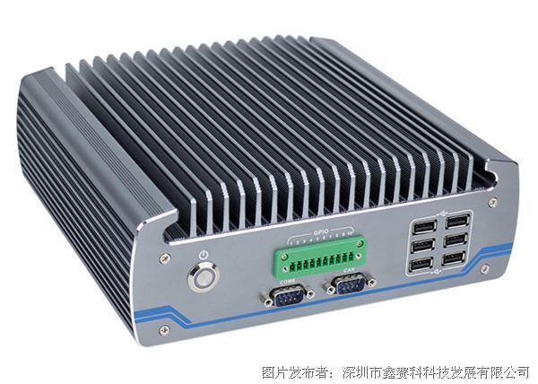 研凌ibox-604高端嵌入式工控机1个CAN接口全封闭防尘工业电脑