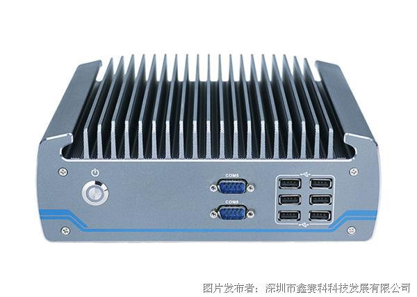 研凌工控605 i5 8500T嵌入式工控机主机H310芯片微型工业计算机