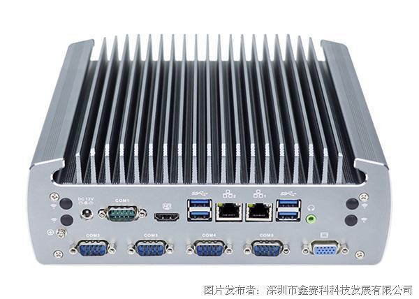研凌604高端嵌入式工控机1个CAN接口全封闭防尘工业电脑