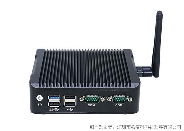 研凌N3四核J1900静音防尘小型工控机便携式口袋小电脑mini pc