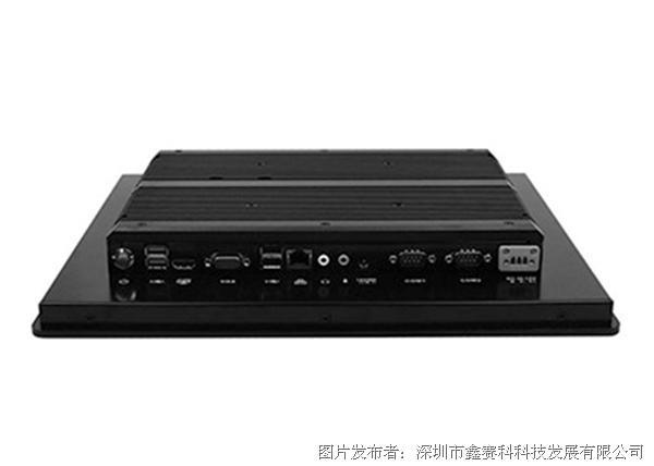 研凌工控一体机触摸工业显示器15寸嵌入式I5 4300U电阻式触控屏