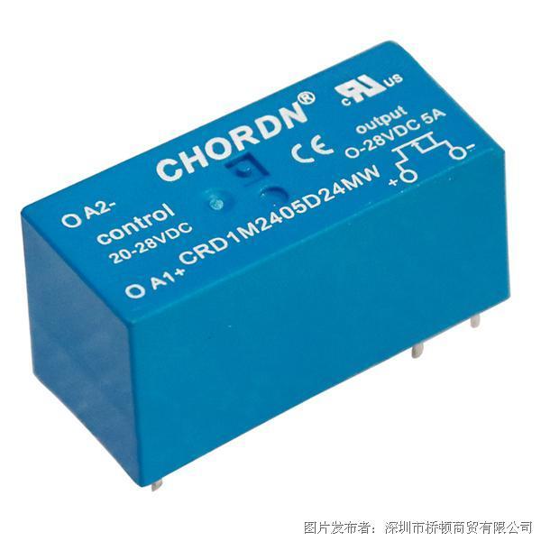 意大利桥顿CHORDN CRD1M直流微型固态继电器