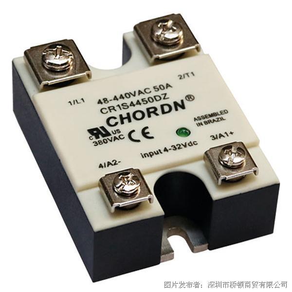 意大利桥顿CHORDN CR1S交流单相固态继电器
