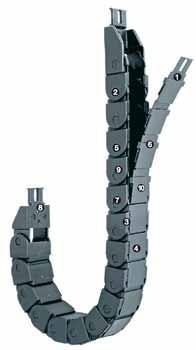 易格斯 R09系列拉鏈式拖鏈