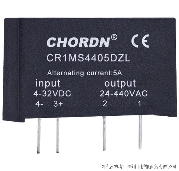 意大利桥顿CHORDN CR1MS交流功率固态继电器